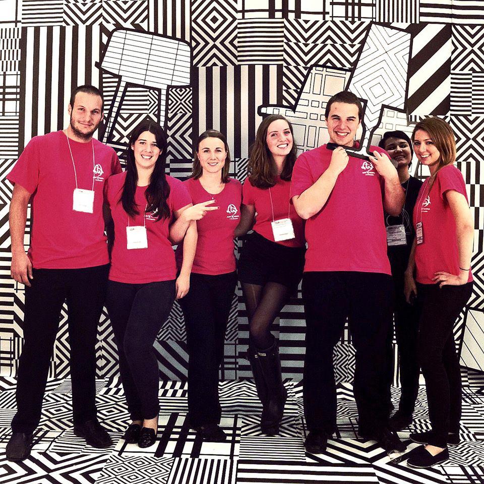 équipe de bénévole de Artxterra au sidim de 2013